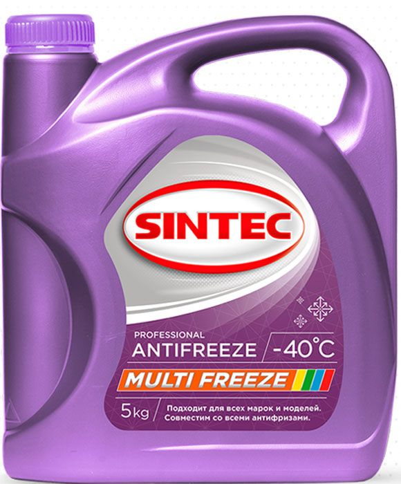 Антифриз SINTEC MULTI FREEZE универсальный, 5кг