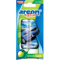 Ароматизатор AREON гелевый LIQUID Refreshment Green Apple